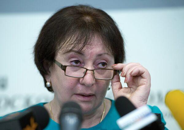 La líder opositora y ex candidata a la presidencia de Osetia del Sur, Ala Dzhióyeva - Sputnik Mundo