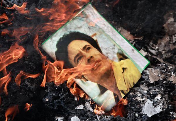 EEUU prorroga un año más sanciones contra el antiguo régimen de Libia - Sputnik Mundo