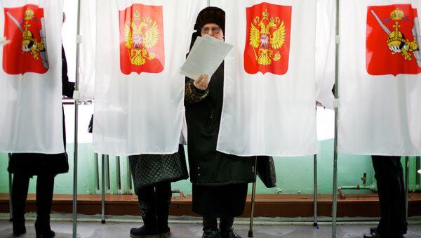 Elecciones presidenciales en Rusia (archivo) - Sputnik Mundo