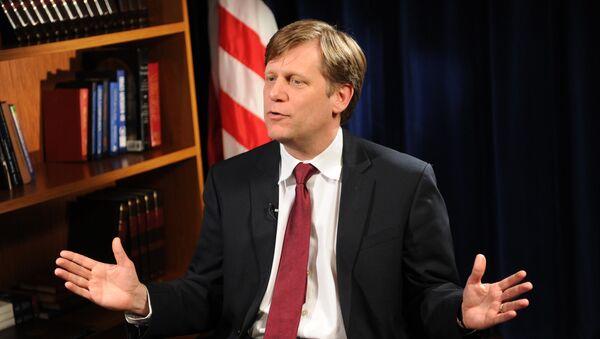 Michael McFaul, exembajador de EEUU en Moscú - Sputnik Mundo