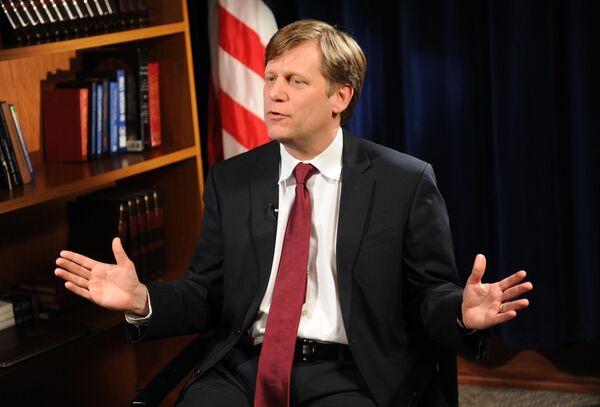 El embajador de EEUU en Moscú Michael McFaul - Sputnik Mundo