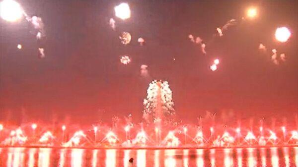 """Corea del Norte celebró el """"Día del Sol"""" con espectáculo de fuegos artificiales - Sputnik Mundo"""