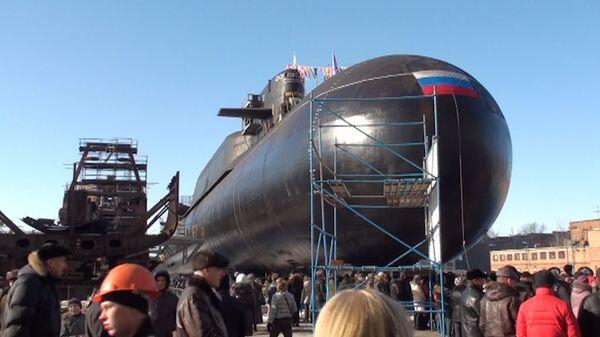 El submarino estratégico ruso Verjoturie se reincorporará al servicio en noviembre después de reparación - Sputnik Mundo