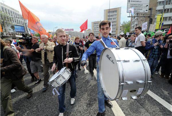 La oposición radical continuará protestas callejeras hasta que en Rusia haya reformas reales - Sputnik Mundo