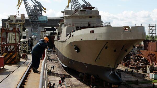 Rusia construye su segundo buque Ivan Gren - Sputnik Mundo