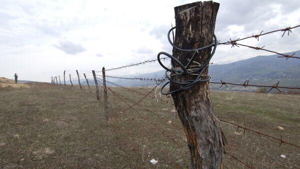 Frontera entre Georgia y Osetia del Sur - Sputnik Mundo