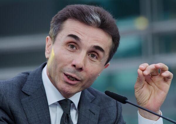 El primer ministro de Georgia, Bidzina Ivanishvili - Sputnik Mundo