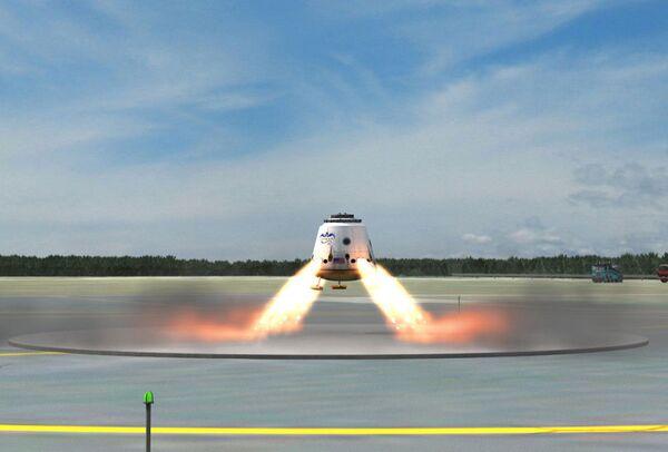 SpaceX ensayará en 2012 nueva versión de nave Dragon que descenderá sobre tierra firme - Sputnik Mundo