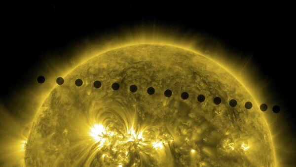 El tránsito de Venus sobre el disco solar - Sputnik Mundo