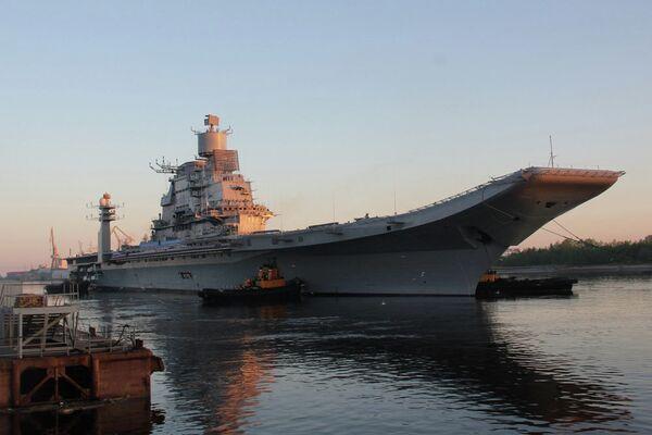 Rusia entregará el portaviones Vikramaditya a la India en noviembre de 2013 - Sputnik Mundo