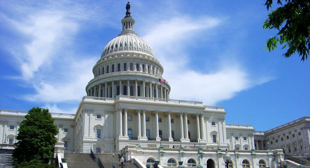 Senado de EEUU en Washington