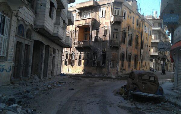 Homs - Sputnik Mundo
