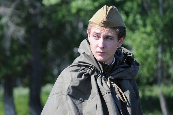Clubes histórico-militares rusos reconstruyen episodios de la guerra contra Alemania nazi - Sputnik Mundo