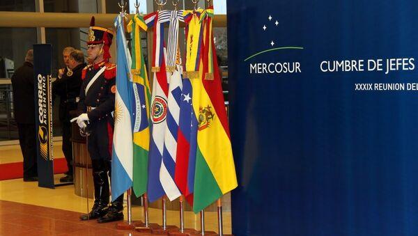 Países miembros del Mercado Común del Sur  - Sputnik Mundo