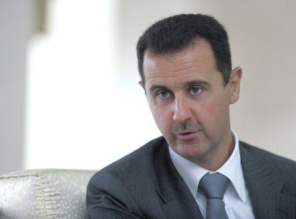 Presidente sirio Bashar Asad - Sputnik Mundo