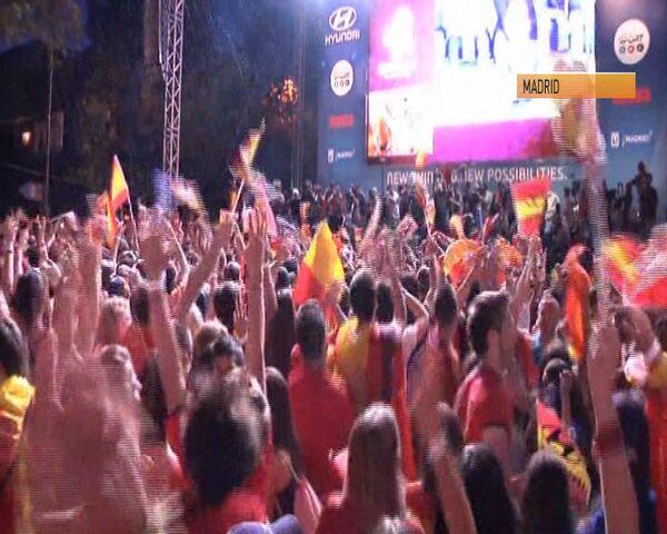 Alegría y lágrimas tras la final de la Eurocopa 2012 - Sputnik Mundo