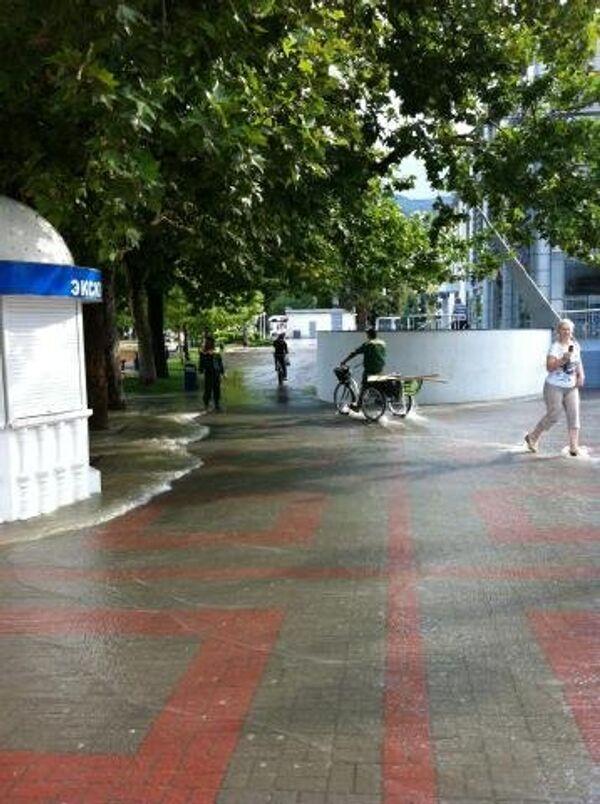 Inundaciones en el sur de Rusia - Sputnik Mundo