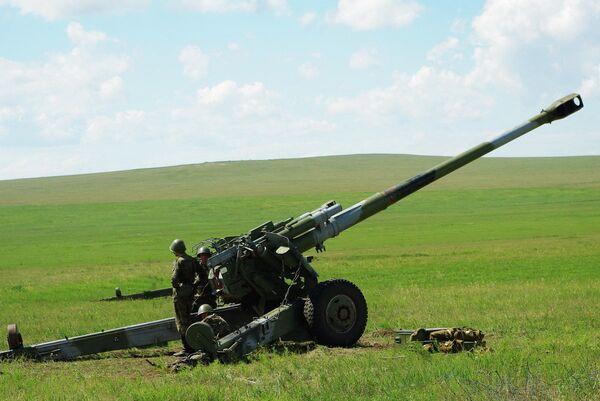 Cadetes de 23 países participan en ejercicios de artillería en Rusia - Sputnik Mundo