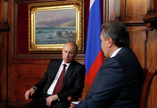 Рабочий визит президента РФ В.Путина в Украину - Sputnik Mundo