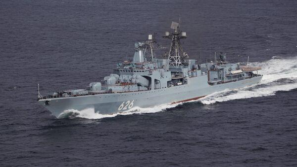 El destructor ruso Vicealmirante Kulakov - Sputnik Mundo