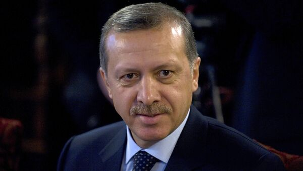 Primer ministro turco, Recep Tayyip Erdogan - Sputnik Mundo