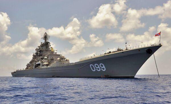 Crucero atómico Piotr Veliki - Sputnik Mundo