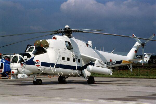 El helicóptero Mi-35 - Sputnik Mundo