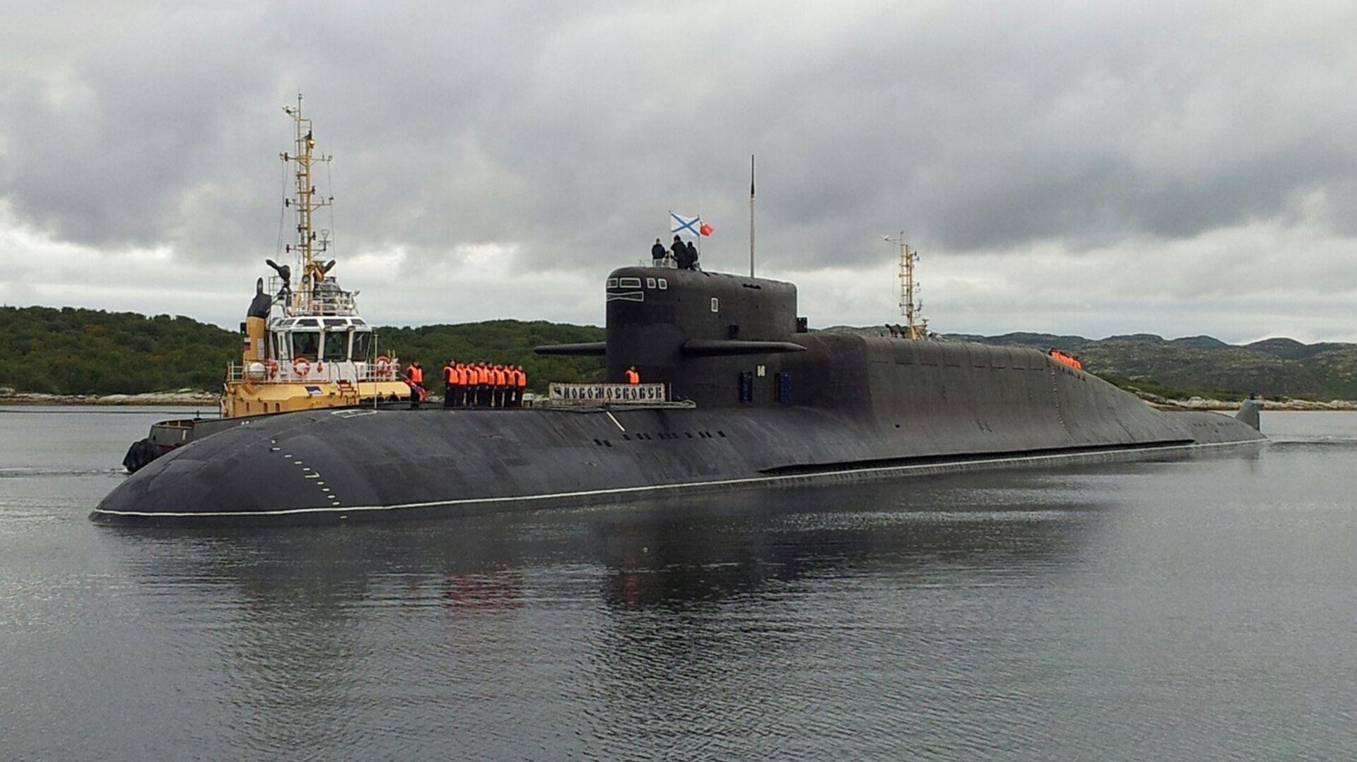 El submarino K-407 Novomoskovsk - Sputnik Mundo, 1920, 10.08.2021