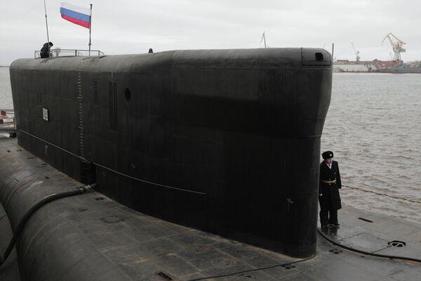 El submarino nuclear Alexandr Nevski - Sputnik Mundo