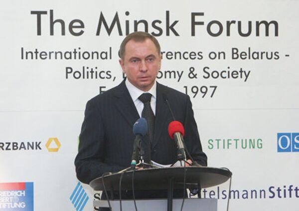 Canciller bielorruso, Vladimir Makei (archivo) - Sputnik Mundo