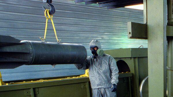 Rusia reanuda el desarme de su arsenal químico - Sputnik Mundo