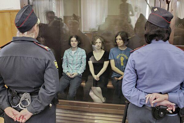 La defensa de Pussy Riot recurre la condena de dos años de cárcel - Sputnik Mundo