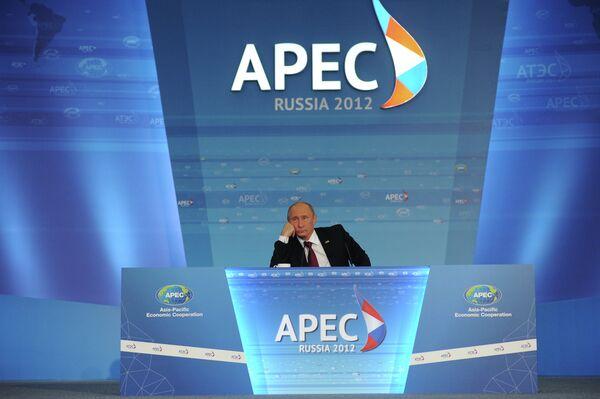 Las tareas de la cumbre del APEC están cumplidas dice Putin - Sputnik Mundo