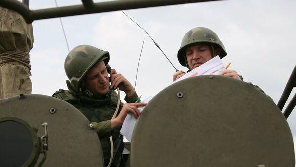 Militares de la infantería mecanizada rusa (archivo) - Sputnik Mundo