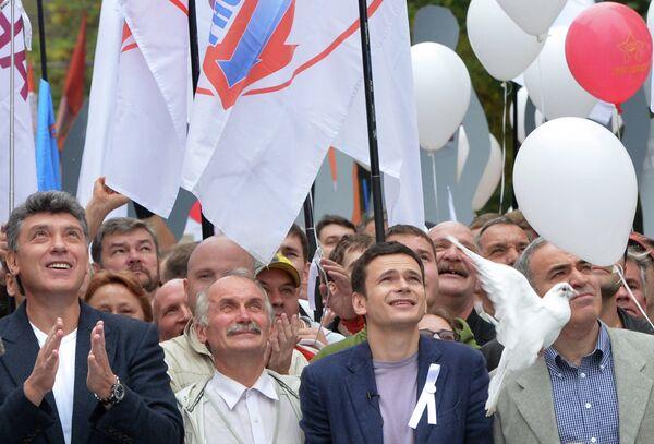 Arranca en Moscú la tercera Marcha de los Millones de la oposición - Sputnik Mundo