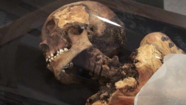 "La momia de la ""princesa de Altái"" regresa a casa - Sputnik Mundo"