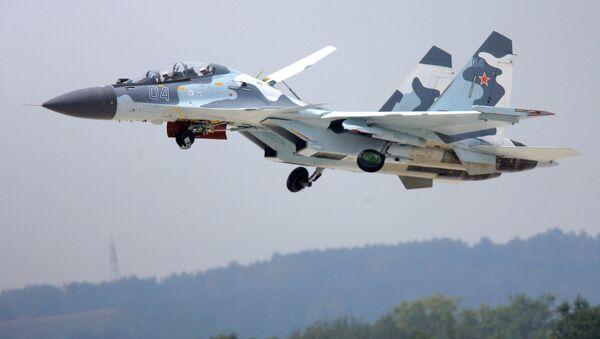 Su-30MK (archivo) - Sputnik Mundo