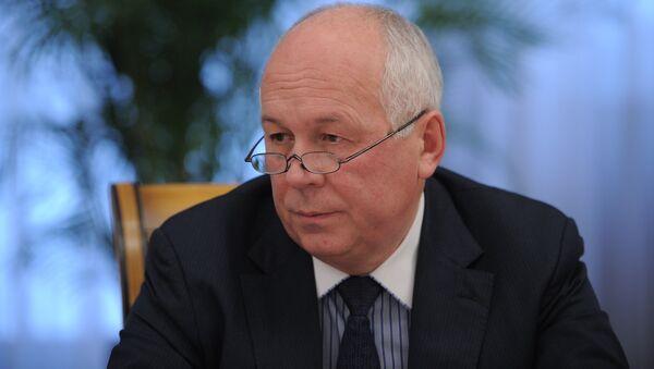 Serguéi Chémezov, director de la corporación rusa Rostec - Sputnik Mundo
