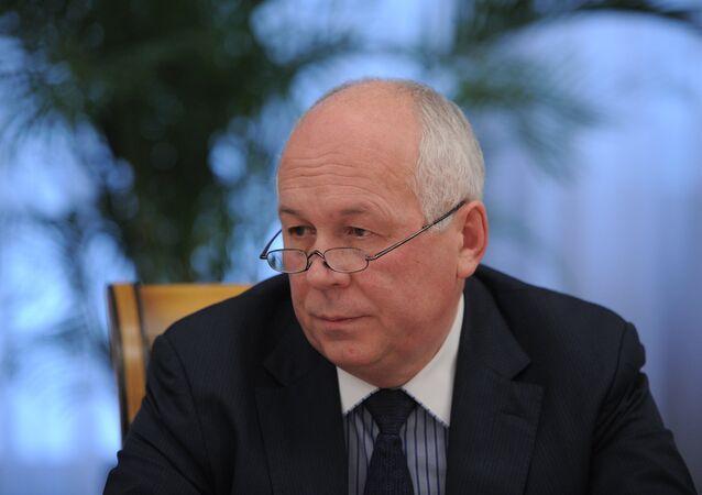 Serguéi Chémezov, director de la corporación rusa Rostec