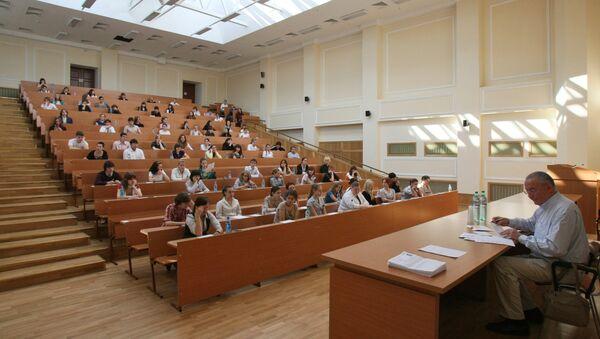 Estudiantes rusos (archivo) - Sputnik Mundo