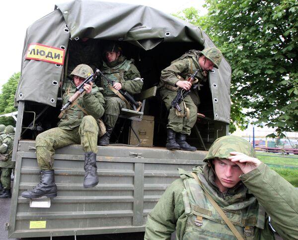Rusia baraja utilizar el Ejército en la lucha antiterrorista en el Cáucaso Norte - Sputnik Mundo