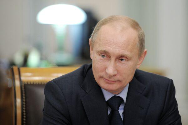Presidente de Rusia, Vladimir Putin - Sputnik Mundo