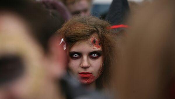 Парад зомби в Новосибирске - Sputnik Mundo