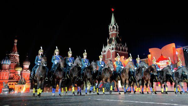 El Festival Internacional de Música Militar que en la Plaza Roja - Sputnik Mundo