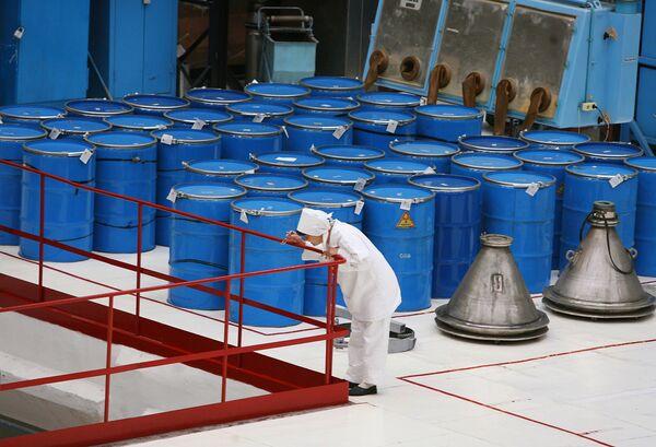 "EEUU y Rusia cumplieron en un 95% el programa ""Megatones a Megavatios"" - Sputnik Mundo"