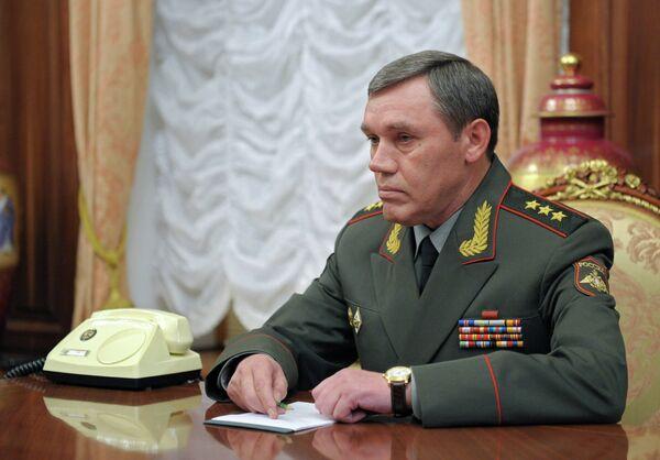 Vladímir Putin nombró al coronel general Valeri Guerásimov (en la foto) como nuevo jefe del Estado Mayor de Rusia - Sputnik Mundo