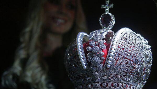 Copia de la Gran Corona Imperial de Rusia - Sputnik Mundo