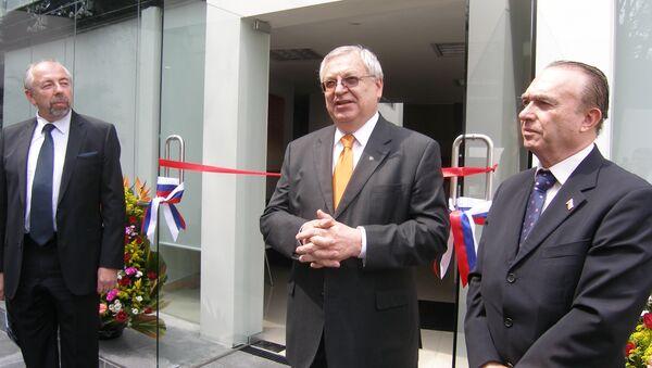 Valery I. Morozov, diplomático ruso - Sputnik Mundo