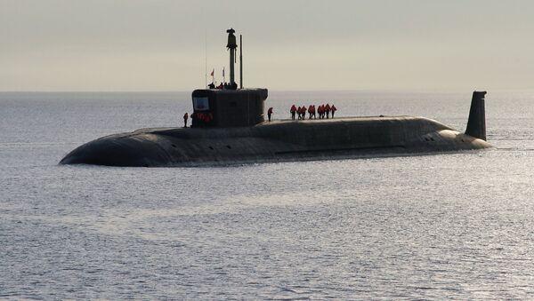 Submarino nuclear del proyecto Borei 'Yuri Dolgoruki' - Sputnik Mundo