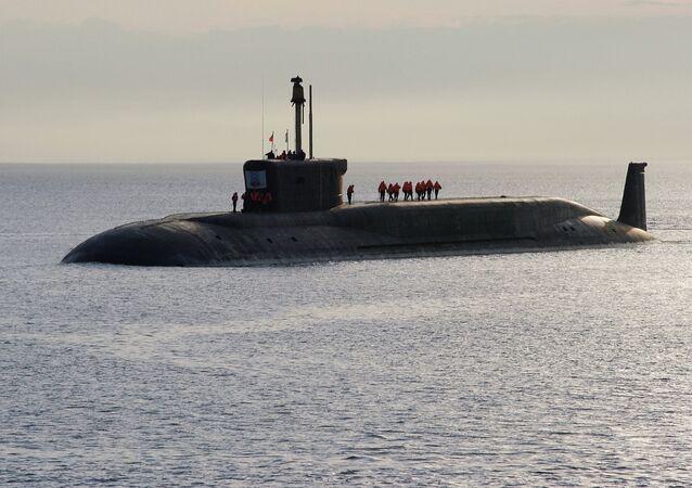 Submarino nuclear 'Yuri Dolgoruki'